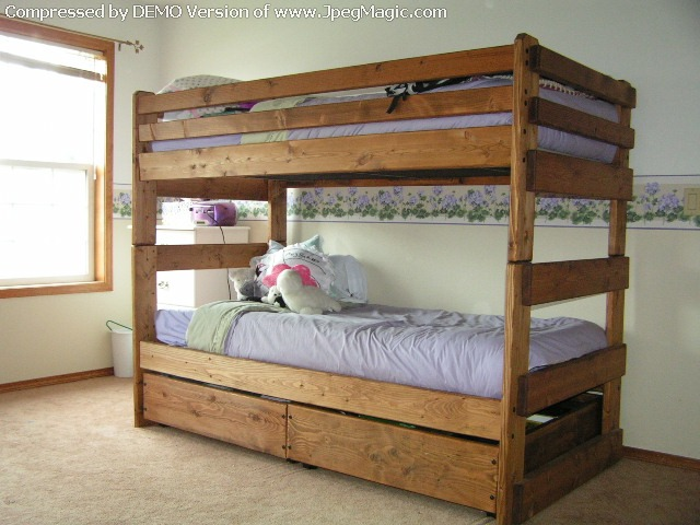 Download extra long twin bunk beds pdf entry bench coat for Bunk bed and bang